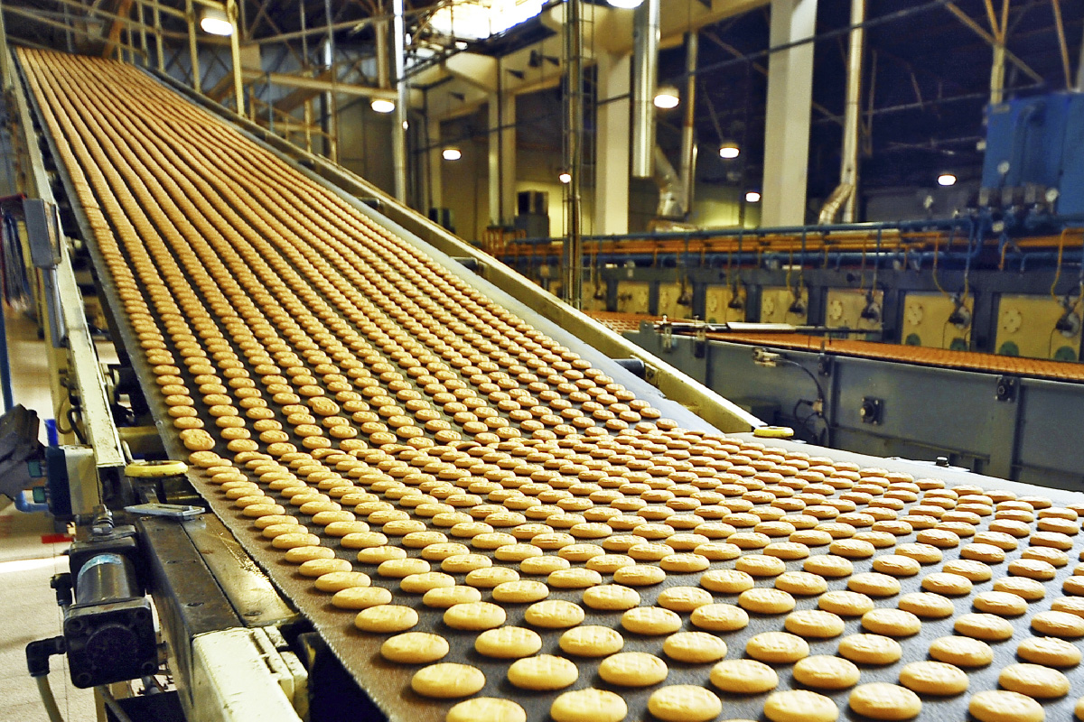 Confectionery industry